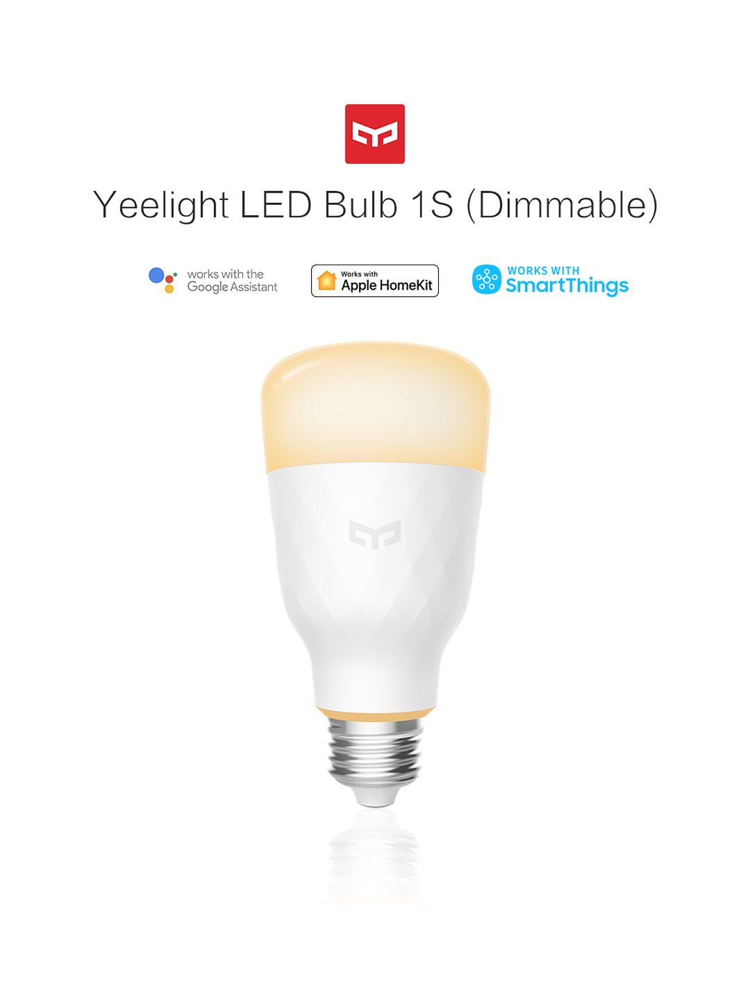 Yeelight LED Bulb 1S (Dimmable)