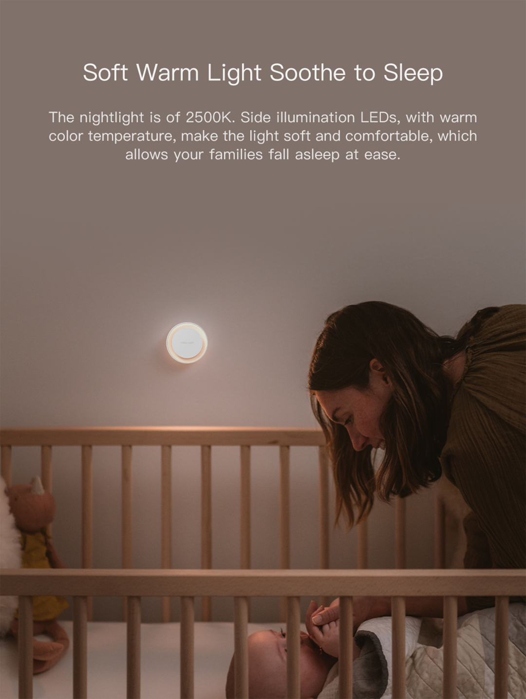 Yeelight Plug-in Light Sensor Nightlight